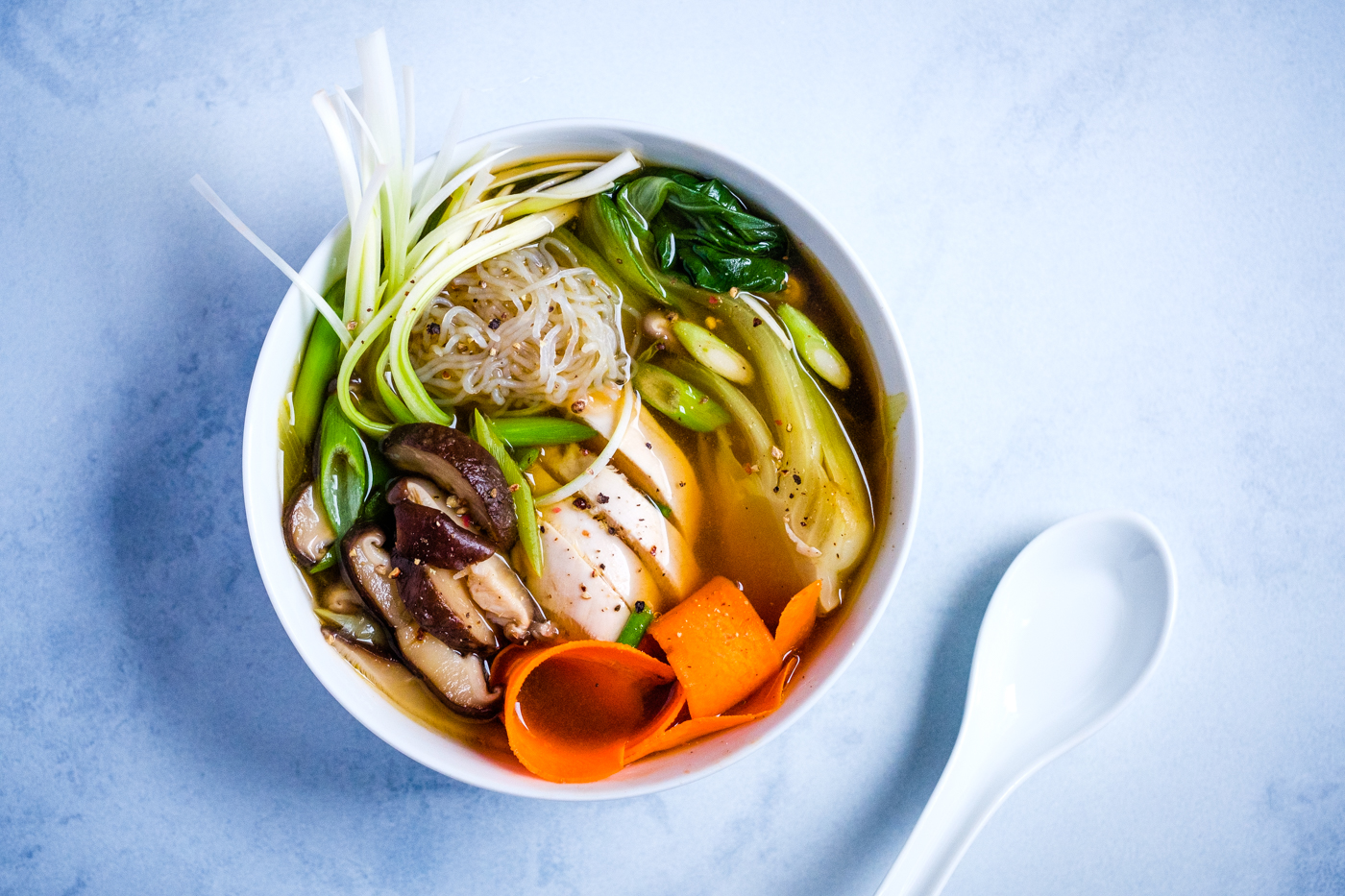 A version of the lectin-free miso ramen soup I made