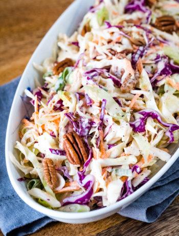 Lectin-free coleslaw