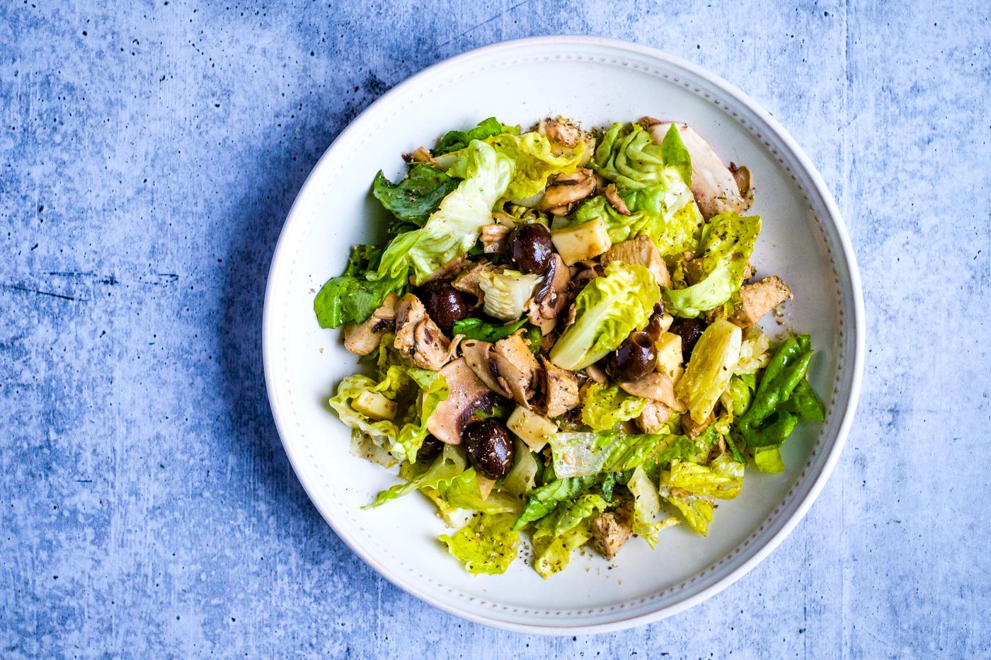 Italian Chicken Salad with Balsamic Vinaigrette