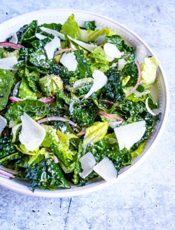 kale romaine salad lectin free