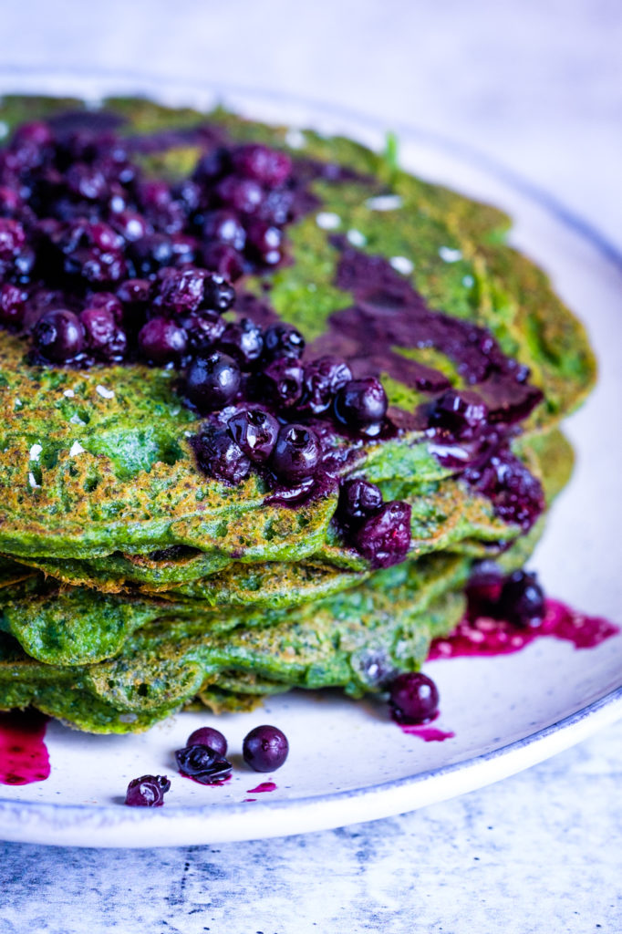 spinach pancakes lectin free