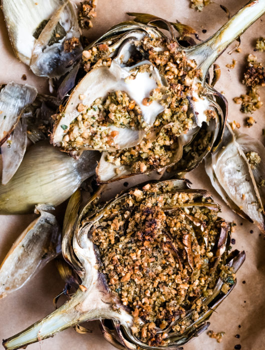 baked artichokes lectin free