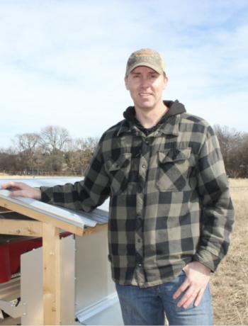 Dan Walter, Owner and Farmer at Pastured Steps in Dallas