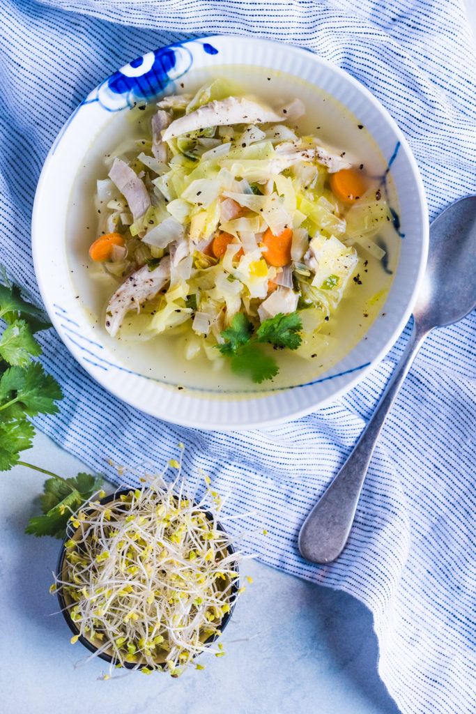 cabbage soup lectin free