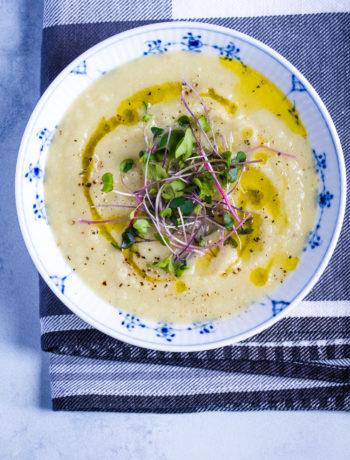 Cream of Celeriac, Parsnip and Cauliflower
