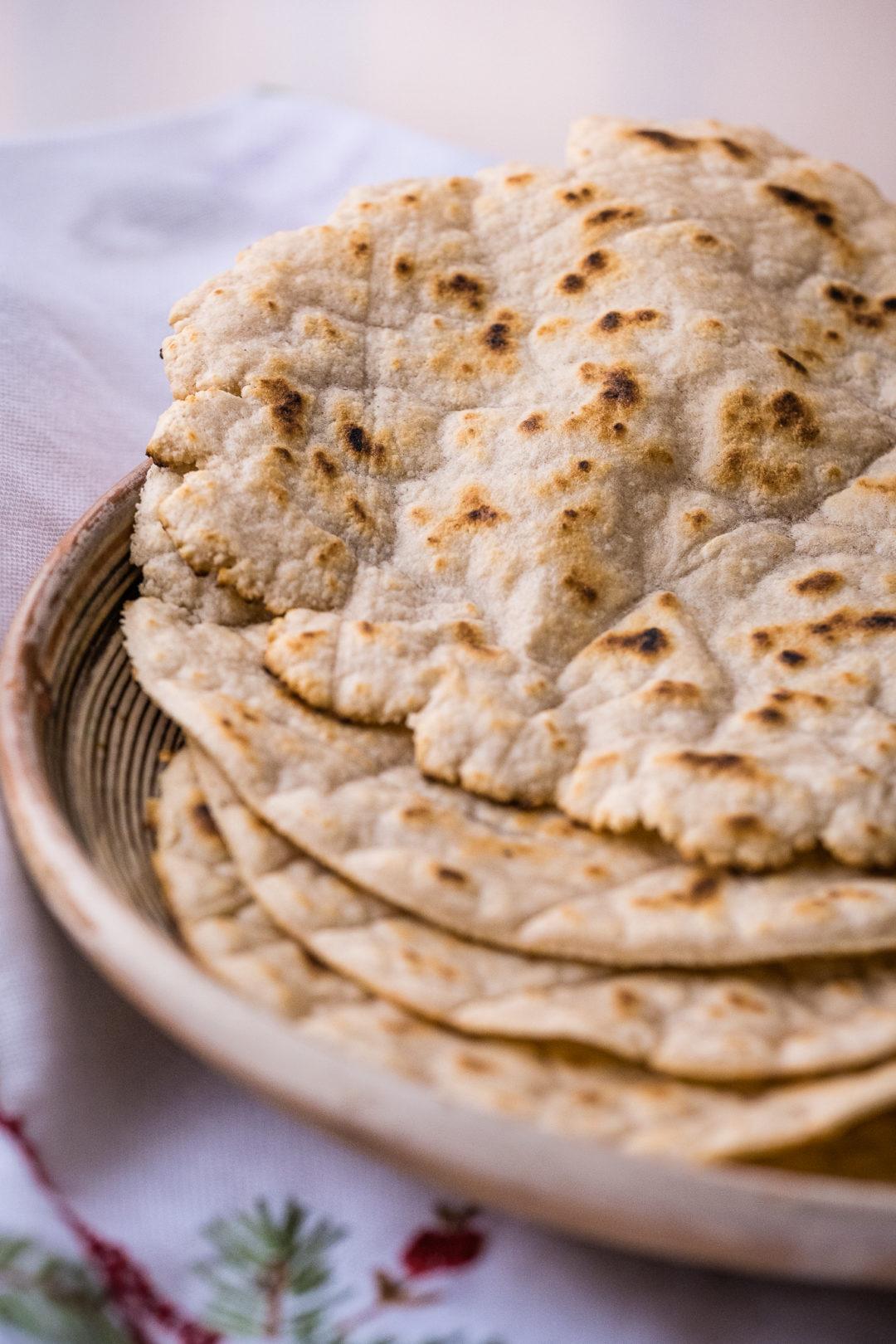 Lectin-free Cassava Tortillas