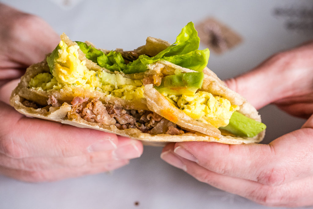 The Most Satisfying Lectin-Free Breakfast I've Ever Had. The Tortilla Wrap Hack.