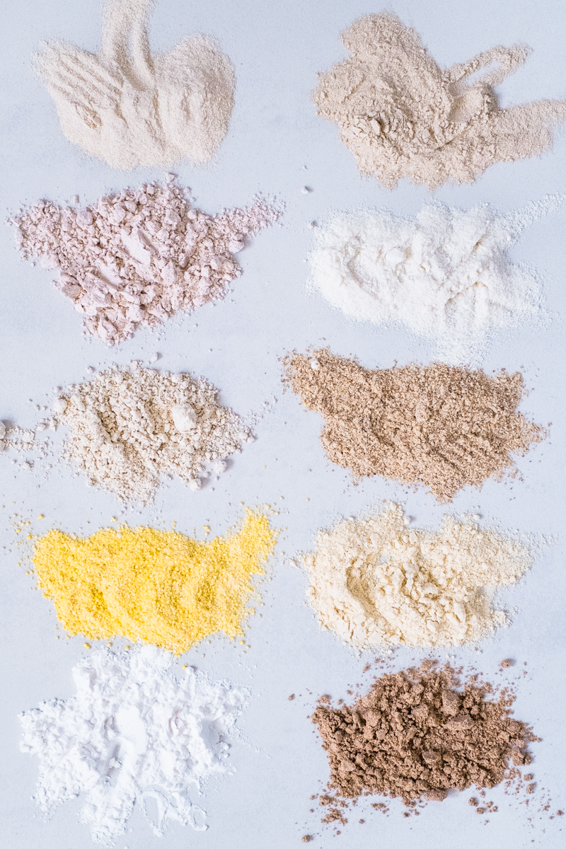 lectin-free gluten-free flours