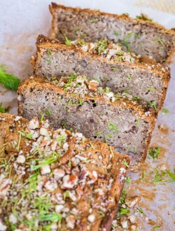 Gluten-Free, Sugar-Free Zucchini Bread